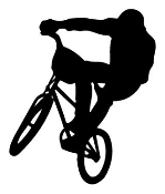 BMX1 Decal Sticker