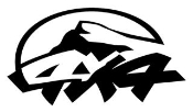 4x4 Off Road v3 Decal Sticker