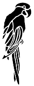 Parrot Decal Sticker