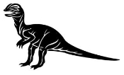 Dilophosaurus Decal Sticker