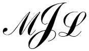3 Letter Monogram v6 Decal Sticker