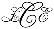 3 Letter Monogram v8 Decal Sticker
