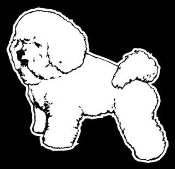 Bichon Frise Decal Sticker