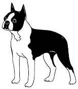 Boston Terrier Decal Sticker