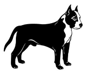 Bull Terrier v2 Decal Sticker