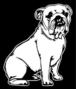 Bulldog v2 Decal Sticker
