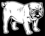 Bulldog v3 Decal Sticker