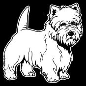 Cairn Terrier Decal Sticker