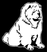 Chow Decal Sticker