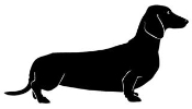 Dachshund v2 Decal Sticker