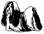 Shih Tzu v2 Decal Sticker