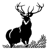 Deer v3 Decal Sticker