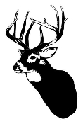 Deer Head v4 Decal Sticker