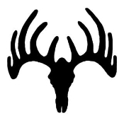 Deer Skull v2 Decal Sticker