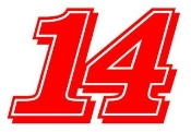 Stewart 14 Decal Sticker