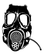 Gas Mask v2 Decal Sticker