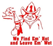 Find Em Hot v1 Decal Sticker