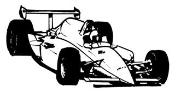 Indy Car 2 Decal Sticker