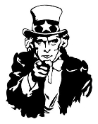 Uncle Sam Decal Sticker