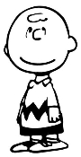 Charlie Brown Decal Sticker