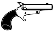 Handgun 3 Decal Sticker