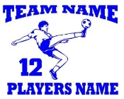 Personalized Soccer 1 Decal Sticker