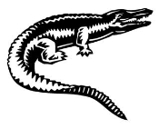 Alligator v2 Decal Sticker