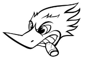 Woody Woodpecker v4 Decal Sticker