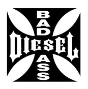 Bad Ass Diesel Decal Sticker