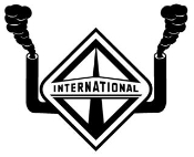 International with Stacks Decal Sticker