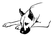 Great Dane Decal Sticker