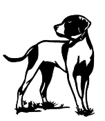 Hunting Dog v1 Decal Sticker