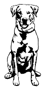 Labrador v2 Decal Sticker