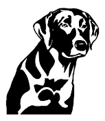 Labrador v3 Decal Sticker