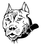 Pit Bull Head Decal Sticker