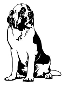 Saint Bernard Decal Sticker