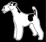 Wire Fox Terrier Decal Sticker