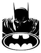 Batman v7 Decal Sticker