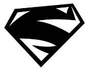 Superman v2 Decal Sticker