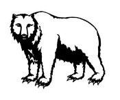 Bear v3 Decal Sticker