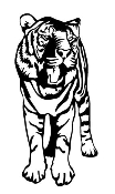 Tiger v5 Decal Sticker