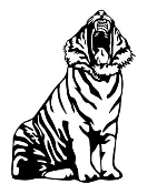 Tiger v6 Decal Sticker