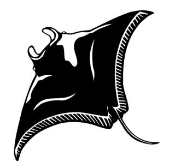 Manta Ray Decal Sticker