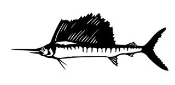 Swordfish v2 Decal Sticker