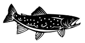 Trout v2 Decal Sticker