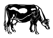Cow v4 Decal Sticker