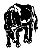 Cow v5 Decal Sticker