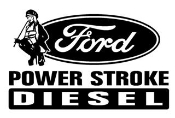 Power Stroke Girl v4 Decal Sticker