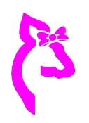 Browning Girl Deer Head v2 Decal Sticker