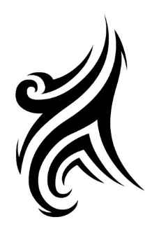 Tribal Design v18 Decal Sticker